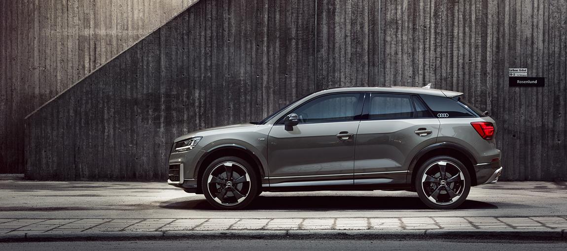 Audi Splashpage